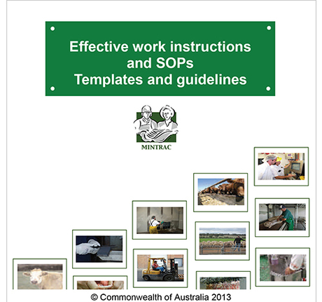 Effective Work Instructions and SOP's - Templates and Guidelines